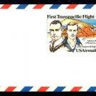 Scott #UXC19 UPSS# SA18 28¢ First Transpacific Flight Mint Air Mail Postal Card denomination: 28¢