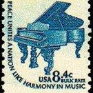 Scott #1615c Piano 1976