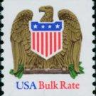 Scott #2604 EAGLE AND SHIELD bulk rate 1991