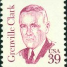 Scott #1867 GRENVILLE CLARK 1985