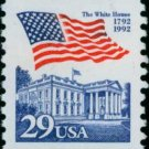 Scott #2609 FLAG OVER WHITE HOUSE 1992