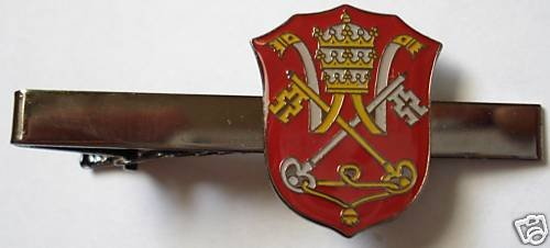 HOLY SEE Vatican Pope Priest Catholic TIE BAR CLIP