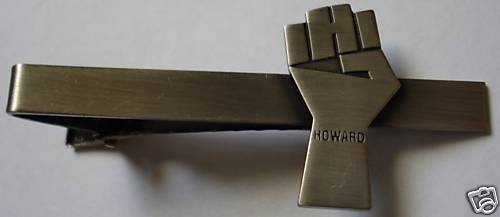 Howard Stern Fist Sirius Satellite XM Radio Tie Bar