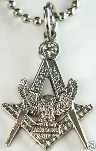 Harley Davidson HOG Masonic Masonry Pendant Necklace