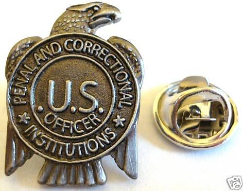 PRISON GUARD Jail Correctional Officer Mini Badge PIN