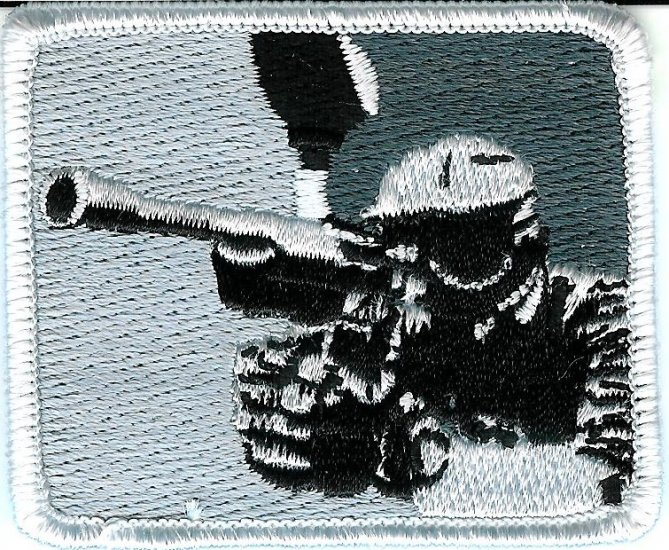Paintball Grey Logo Shoulder Marker Sticker PATCH
