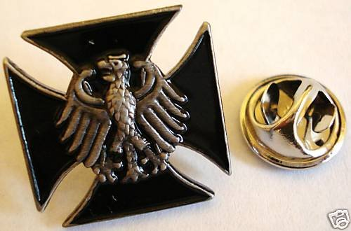 Germany German IRON CROSS Eagle Military Army LAPEL PIN