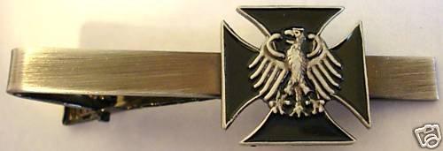 Germany German IRON CROSS Eagle Military Army TIE BAR