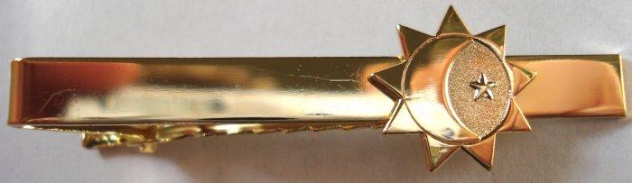 THREE DEGREES OF GLORY Symbol LDS Mormon Tie Bar Clip