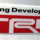 "Toyota TRD 5.25"" x 1.5"" Plastic Emblem"