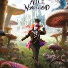 Alice in Wonderland Final Double Sided Original Movie Poster 27 x40