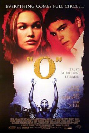 """O"" Original Movie Poster Single Sided 27 x40"