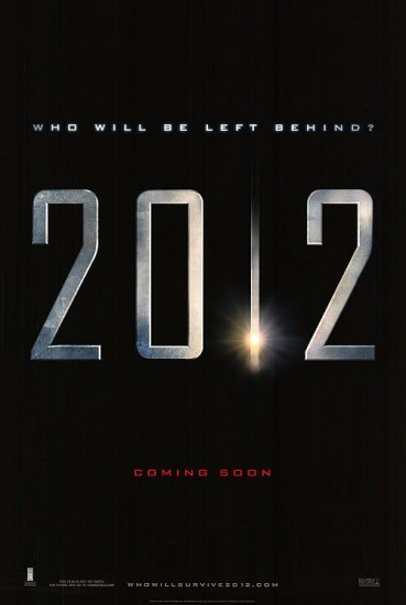 2012 Advance 27x40 Original Movie Poster Single Sided