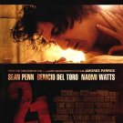 21 Grams Sean Penn 27x40 Original Movie Poster Single Sided
