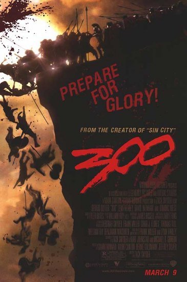 300 Regular 27x40 Orig Movie Poster Double Sided
