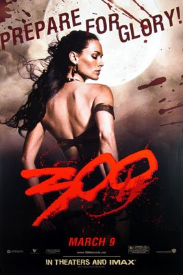 300 (Queen) 24 x36 Orig Movie Poster Single Sided