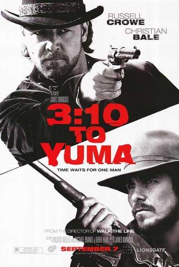 3:10 To Yuma Regular Movie Poster Original 27 x40 Double Side