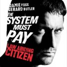Law Abiding Citizen (Butler) Original Movie Poster Single Sided 27x40
