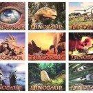 Dinosaur Lobby Cards9 Cards per set RARE!! ORIGINAL