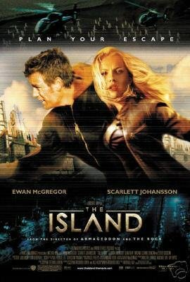 Island Regular Original Movie Poster Double Sided 27x40
