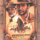 Indiana Jones and The Last Crusade (Re-Release) Original Movie Poster Single Sided 27x40