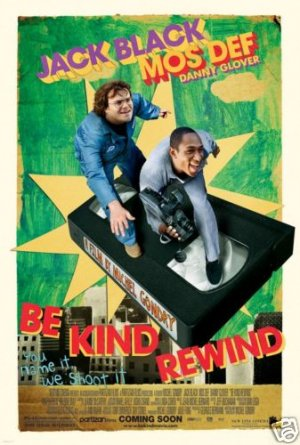 BE KIND REWIND ORIG  Movie Poster 27 X40