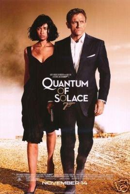 QUANTUM OF SOLACE REG ORIG Movie Poster  27X40 EMBOSSED