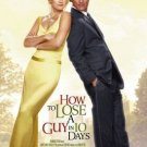 HOW TO LOSE A GUY IN 10 DAYS ORIG MOVIE Poster DS