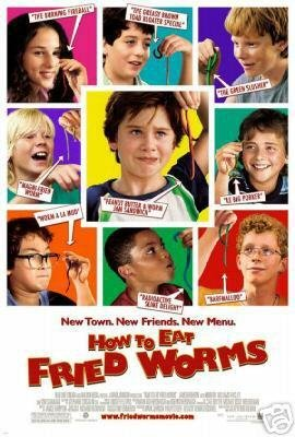 HOW TO EAT FRIED WORMS ORIG MOVIE Poster  27 X40 DS
