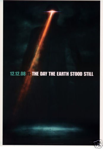 DAY THE EARTH STOOD STILL VER A ORIG Movie Poster DS