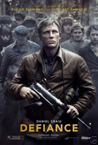 DEFIANCE ADV ORIGINAL 27 X40 Movie Poster DBL SIDED