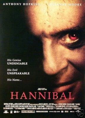 HANNIBAL REG  DBL SIDED MOVIE Poster ORIG 27 X40