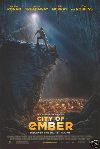 CITY OF EMBER REG ORIG  Movie Poster  DS 27 X40