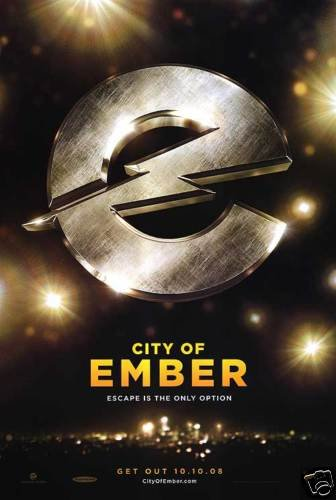 CITY OF EMBER ADV ORIG  Movie Poster  DS 27 X40