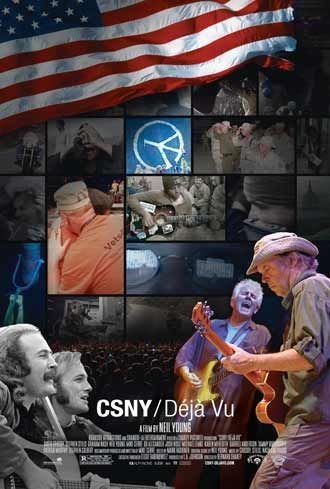 CSNY/DEJA VU ORIG  Movie Poster  DS 27 X40