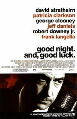 Good Night and Good Luck Original Movie Poster Double Sided 27x40