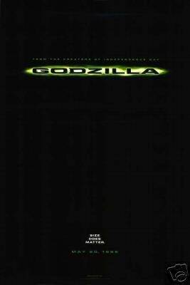 Godzilla Advance Original Movie Poster Single Sided 27x40