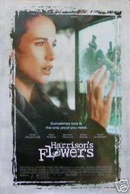 HARRISON'S FLOWERS MOVIE POSTER ORIG 27X40
