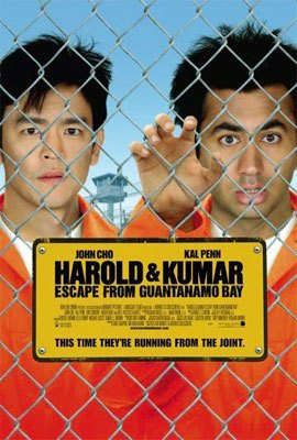 Harold and Kumar 2 : Escape From Guantanamo Bay Regular Orignal Movie Poster Double Sided 27x40