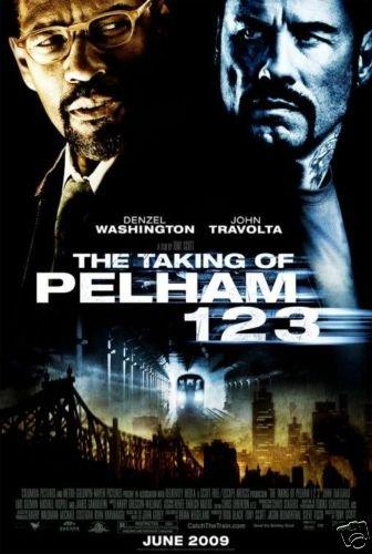 TAKING OF PELHAM 123 ORIG Movie Poster  27X40
