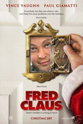 FRED CLAUS A MOVIE Poster ORIG 27 X40 DBLSIDED