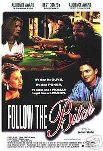Follow The Bitch Original Movie Poster Single Sided 27x40