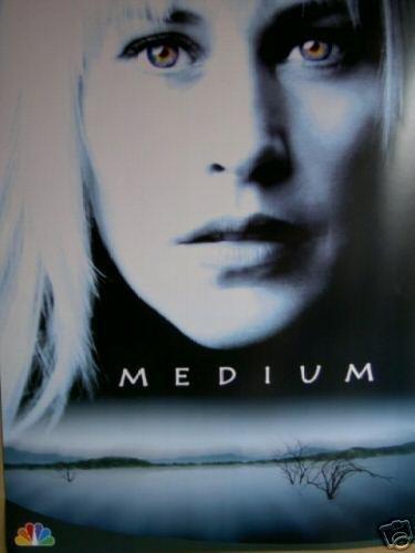 Medium Tv Show Promo Poster Original Movie Poster 21 x30