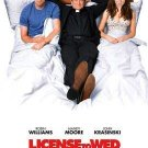 License To Wed Original Movie Poster Double Sided 27x40