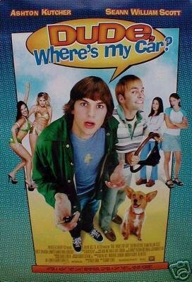 Dude Where's My Car Original Movie Poster Double Sided 27x40