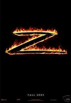 Legend Of Zorro Advance Original Movie Poster Double Sided 27x40