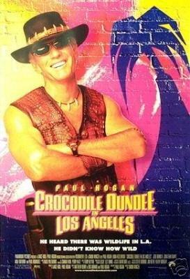 Crocodile Dundee In Los Angeles Original Movie Poster Double Sided 27 X40