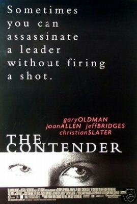 Contender  Original Movie Poster Single Sided 27 X40