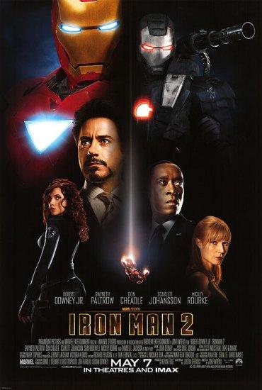 Iron Man 2 Regular Double Sided Original Movie Poster 27x40