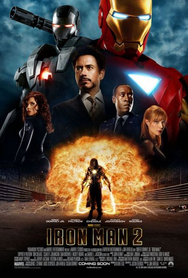 Iron Man 2 International Double Sided Original Movie Poster 27x40